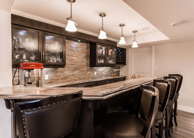 Custom Home Bar