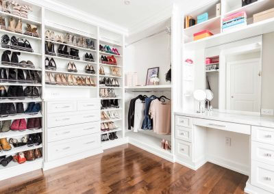 Walk In Closet Renovation